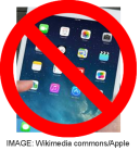 NO iPad Mini