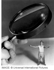 Incredible shrinking man V2