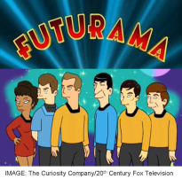 Star Trek_Futurama