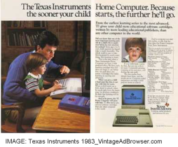 Texas Instruments_Home Computer 1983