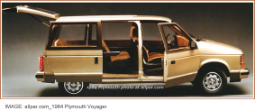 Plymouth Voyager 1984