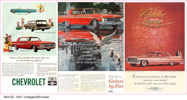 1961 Top car ads